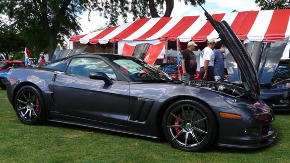 [PICS] RPO B2K: The 25th Anniversary Callaway Corvette at Bloomington Gold