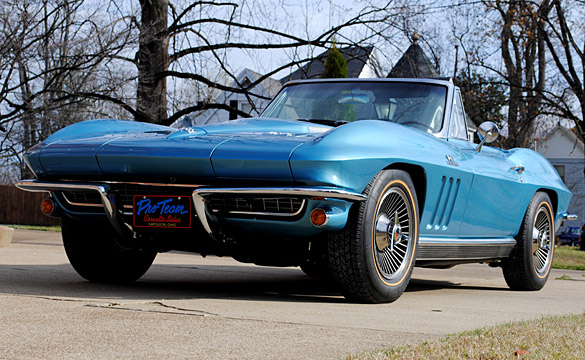 [VIDEO] Last Chance For Saint Bernard's 1966 Corvette Raffle