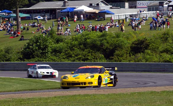 Corvette Racing at Lime Rock: Back to Business at the Bullring