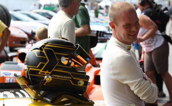 Corvette Racing's Magnussen Celebrates Birthday and 100th ALMS Start
