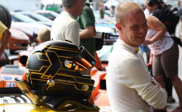 Corvette Racing's Magnussen Celebrates Birthday and 100th ALMS Start