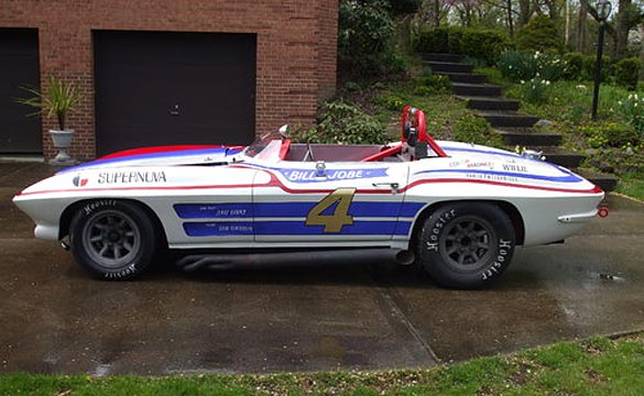 1964 Corvette Supernova Racer Heading to Russo and Steele Monterey