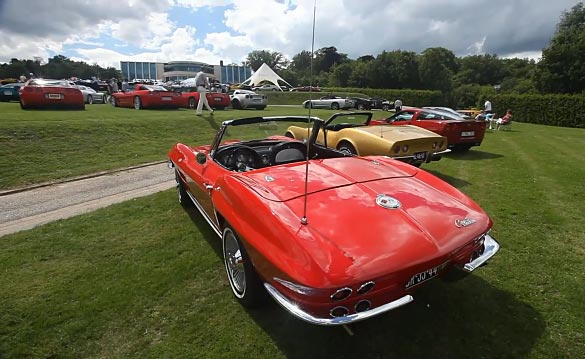 [VIDEO] Netherlands Hosts 10th Annual Corvette Fame show