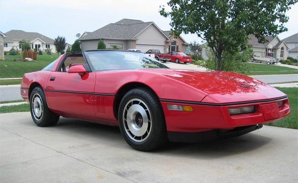 Corvette Values: 1985 Corvette Coupe