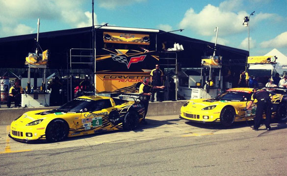 Corvette Racing Qualifies One-