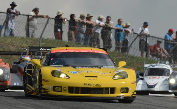 Corvette Racing Second in ALMS Grand Prix of Mosport