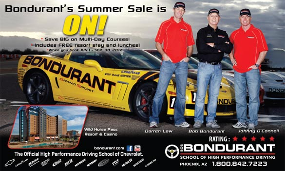 The Bondurant Summer Sale is Going on Now!