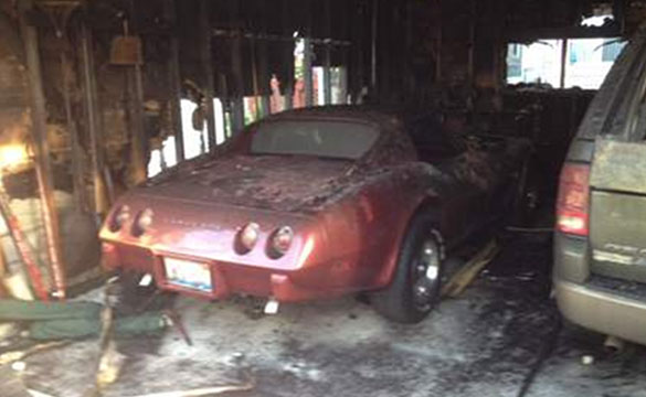 Corvette Torched in Suspicious Chicago Garage Fire