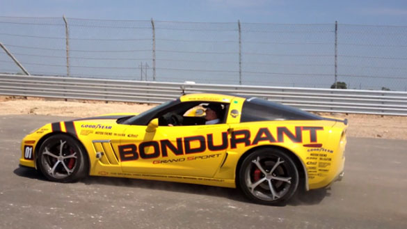 [VIDEO] Bob Bondurant Tests the F1 Track in Austin with his Corvette Grand Sport