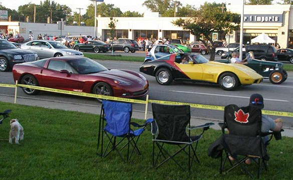 Chevrolet to Celebrate 60 Years of Corvette at Woodward Dream Cruise