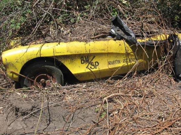 Information Sought On 1957 Corvette Drag Car Field Find