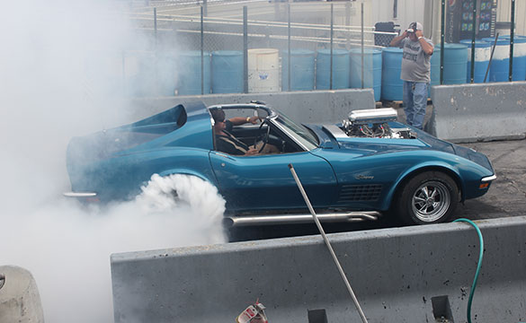 [VIDEO] 1972 Corvette Wins the 2012 Corvettes at Carlisle Burnout Contest