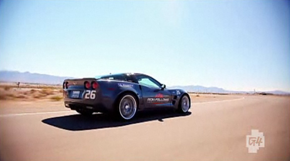 Matt Farah Receives a Driving Lesson in the Corvette ZR1