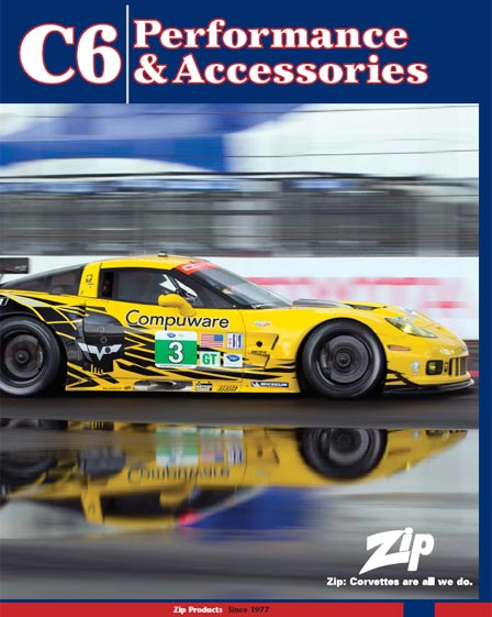 Zip Corvette Releases New C6 Corvette Parts and Accessories Catalog