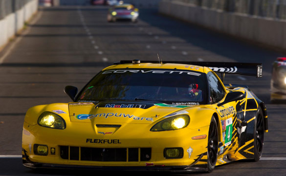 Corvettes Finish Second and Sixth in Baltimore ALMS