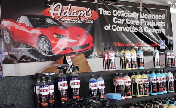GM Gives Official Nod to Adam's Premium Car Care Products for 2013 Corvette and Camaro