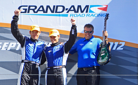 Grand-AM: Westbrook and Garcia Take Checkered Flag in the No. 90 SPD Corvette DP
