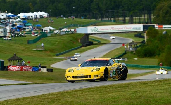 Corvettes Qualify Third and Fourth for ALMS VIR 240