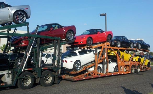 August 2012 Corvette Sales
