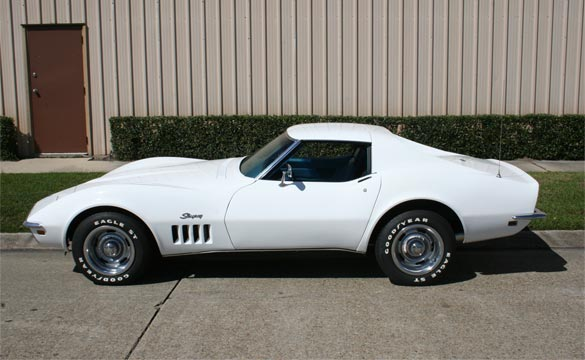 Vicari to Auction 1969 Corvette with M Code Engine Block at Biloxi Event