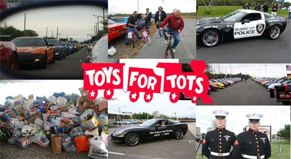 Kerbeck's 9th Annual Atlantic City Toys for Tots Corvette Cruise