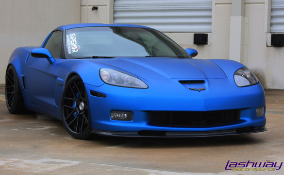 [PICS] Custom Z06 Corvette is Stunning in Matte Blue