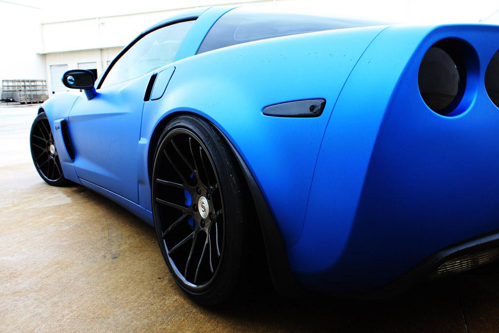 Pics Custom Z06 Corvette Is Stunning In Matte Blue