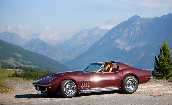 German Corvette Owner Drives the 10 Highest Roads the Alps