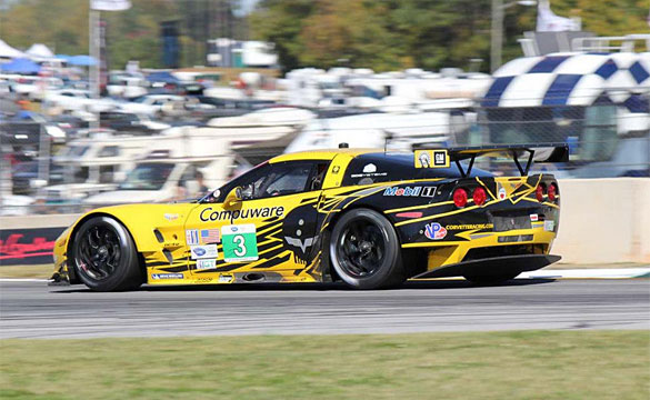 Corvette Racing Runner-Up in Petit Le Mans