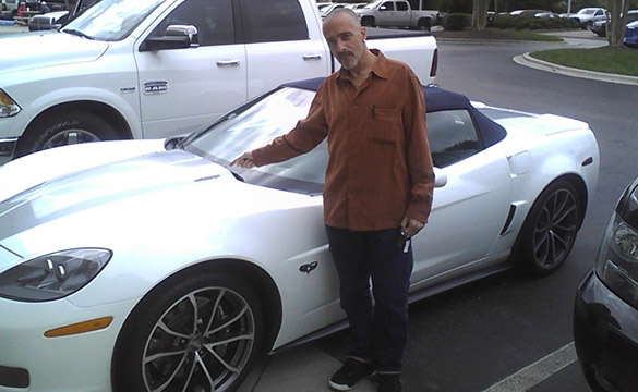 North Carolina Man Wins the Race to Win Corvette Contest