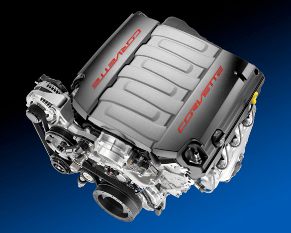 [VIDEO] Watch the 2014 C7 Corvette's LT1 Engine Build Animation