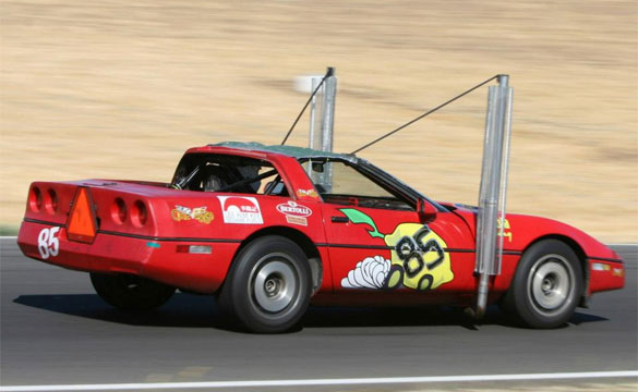 LeMons Racer is the World's Only Veggie Oil Powered Corvette