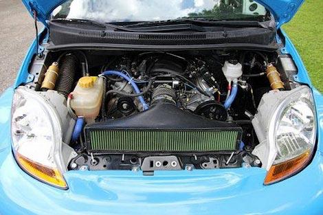 Crazy Chevy Spark V8 Monster – Engine Swap Depot