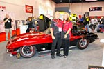SEMA 2012: Rod Saboury's 1963 Split Window Black Widow Custom Corvette