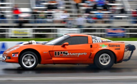 Mark Carlyles Twin-Turbo C6 Corvette Sets IRS and LSX Records at the World Cup Finals