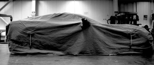 [PIC] Chevrolet Teases the 2014 C7 Corvette