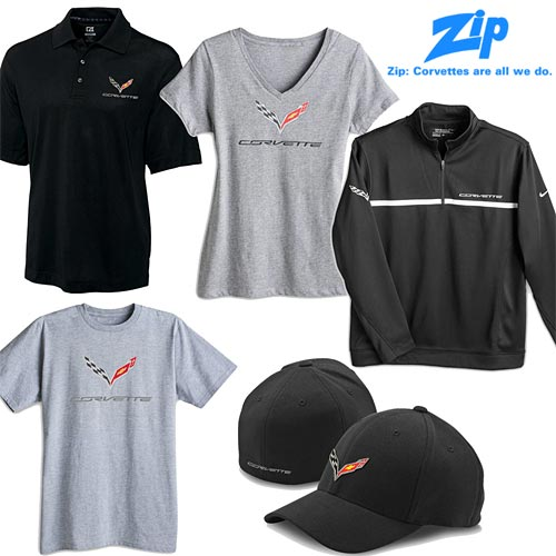 Zip Corvette Now Has C7 Corvette Apparel