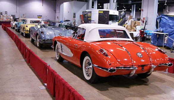 Muscle Car and Corvette Nationals Revs Up This Weekend
