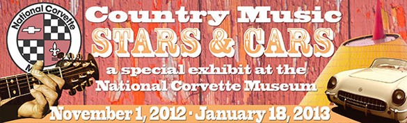 Country Music Stars and Cars Exhibit Opens at the National Corvette Museum