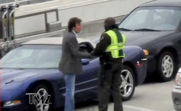 [VIDEO] Paul McCartney's C5 Corvette Gets The VIP Treatment at LAX
