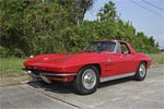 Vicari to Offer 1963 Corvette Convertible Pilot Car at New Orleans Auction