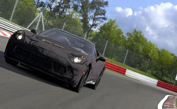 Video Download And Drive The Camouflaged C7 Corvette On Gran