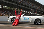 [PICS] Indy 500 Winner Dario Franchitti Celebrates his 3rd Indy 500 Win