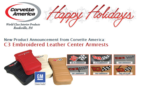 Shop Corvette America for Great Corvette Gifts