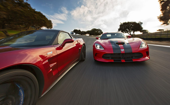 2013 Corvette ZR1 Beats Out 2013 SRT Viper for Lap Record at Laguna Seca