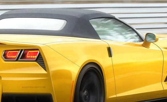 Inside Line Renders the C7 Corvette Convertible in Yellow