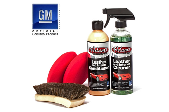 Adam's Officially Licensed Corvette & Camaro Leather & Interior Care Kit