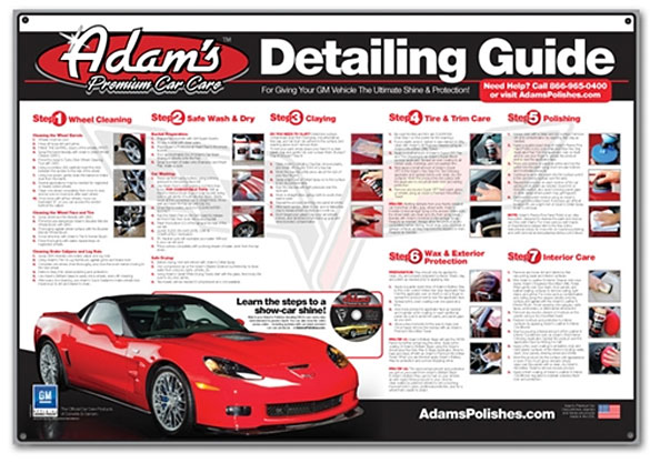 Give the Gift of a Clean Corvette this Christmas Season from Adams Polishes