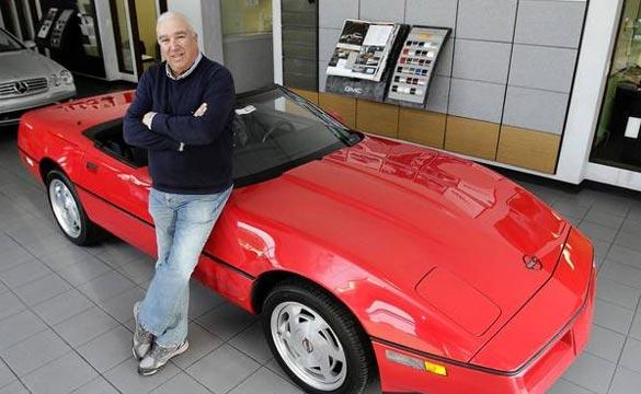 [VIDEO] Stolen 1989 Corvette Stored for 23 Years Sold on eBay
