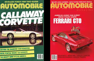 David E. Davis founded Automobile® backed by Rupert Murdoch used by permission of Automobile® Magazine
